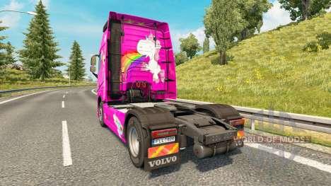 Dee Dee skin für Volvo-LKW für Euro Truck Simulator 2