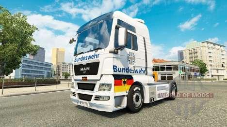 De la Bundeswehr, le skin for MAN truck pour Euro Truck Simulator 2