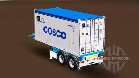 Container semi-trailer Schmitz für Euro Truck Simulator 2