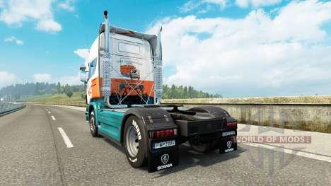 Lommerts skin für Scania-LKW für Euro Truck Simulator 2