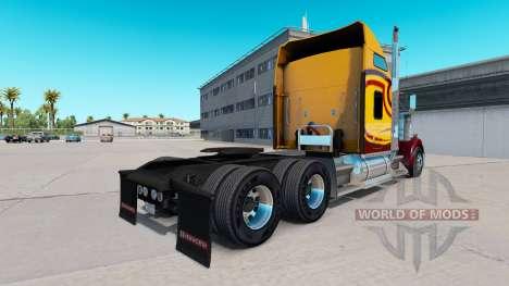 Haut Survivor-truck Kenworth W900 für American Truck Simulator