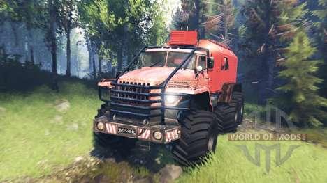 Ural-4320 Polar Explorer v6.0 pour Spin Tires