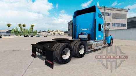 Gordon Trucking Haut für Kenworth W900 Zugmaschi für American Truck Simulator