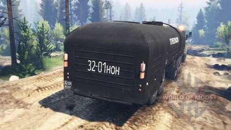 Ural-375 v3.0 für Spin Tires