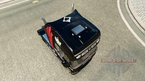 Pfeifhasen skin für Scania-LKW für Euro Truck Simulator 2