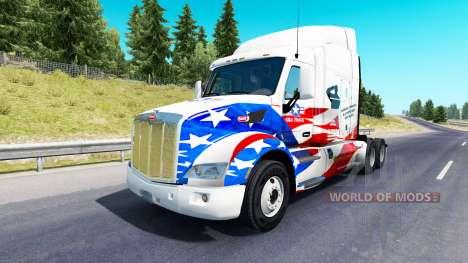 Haut-USA LKW truck Peterbilt für American Truck Simulator