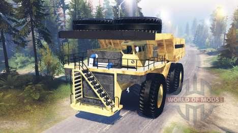 Mining truck Godzilla v3.0 für Spin Tires