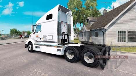 L'aube Express de la peau pour les camions Volvo pour American Truck Simulator