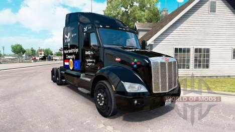 Up2Gaming skin für den truck Peterbilt für American Truck Simulator