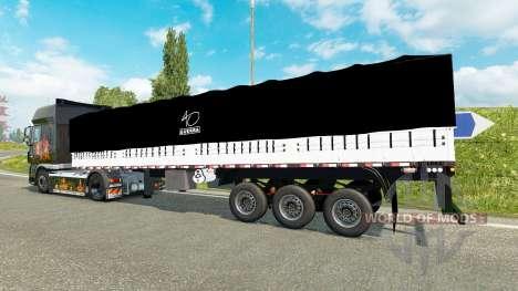 À bord de l'inclinaison semi-remorque pour Euro Truck Simulator 2