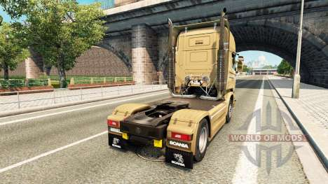 La peau sur le 50e Anniversaire de tracteur Scan pour Euro Truck Simulator 2