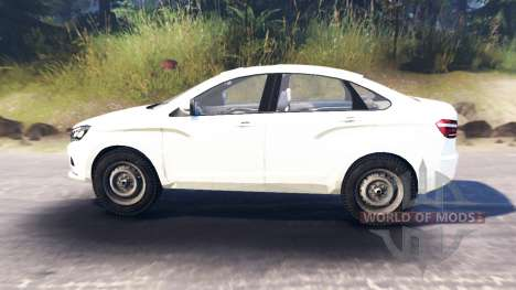 LADA Vesta (ВАЗ-2180) pour Spin Tires
