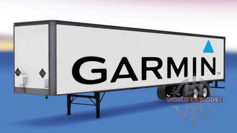 All-Metall-semi-Garmin für American Truck Simulator