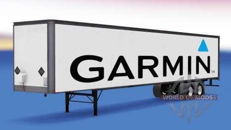 De tous les métaux semi-Garmin pour American Truck Simulator