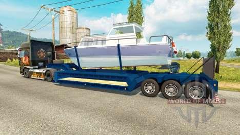 Low-frame Schleppnetzen Boot für Euro Truck Simulator 2