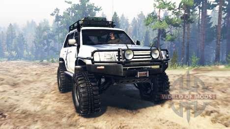 Toyota Land Cruiser 100 2000 [Samuray] für Spin Tires