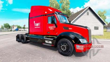 Südosten der skin für den truck Peterbilt für American Truck Simulator