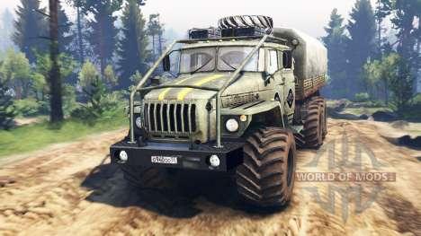Ural-4320-40 1982 v3.0 für Spin Tires