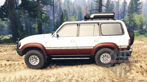 Toyota Land Cruiser 80 VX 1990 v2.0 für Spin Tires