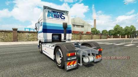 Italtrans skin für DAF-LKW für Euro Truck Simulator 2