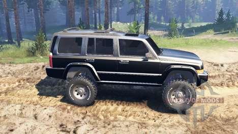 Jeep Commander (XK) für Spin Tires