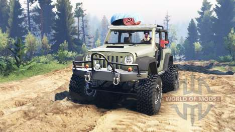 Jeep Wrangler Renegade (JK) v2.0 pour Spin Tires