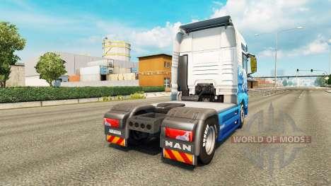 La peau Klanatrans pour tracteur HOMME pour Euro Truck Simulator 2