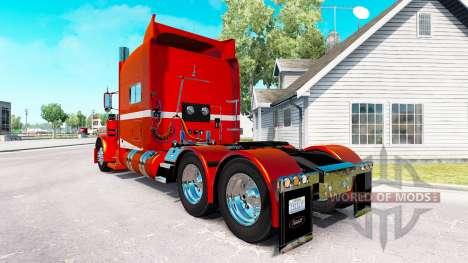 6 peau Métallique pour le camion Peterbilt 389 pour American Truck Simulator