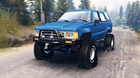 Toyota 4Runner (N60) pour Spin Tires