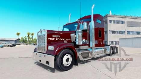 Haut Doodle Bug Traktor auf Kenworth W900 für American Truck Simulator