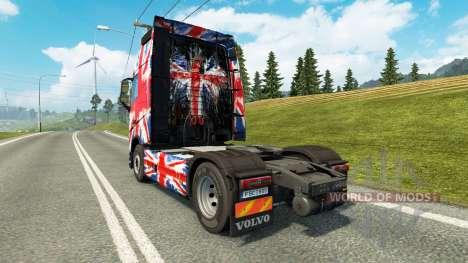 Die England Copa 2014 skin für Volvo-LKW für Euro Truck Simulator 2