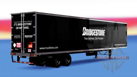 All-Metall-semi-Bridgestone für American Truck Simulator