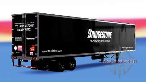 De tous les métaux semi-Bridgestone pour American Truck Simulator