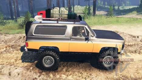 Chevrolet K5 Blazer 1975 [farmer] für Spin Tires