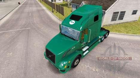 La peau R-L Transporteurs sur le camion Volvo VN pour American Truck Simulator