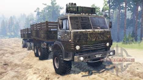 KamAZ-4310 [militaire] v2.0 pour Spin Tires