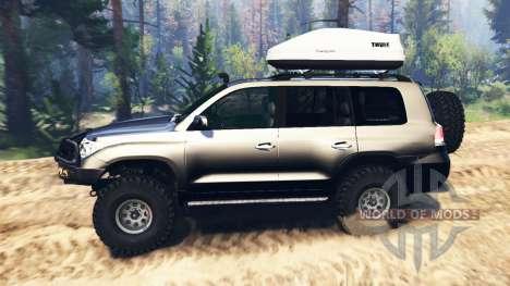 Toyota Land Cruiser 200 2008 v2.0 pour Spin Tires