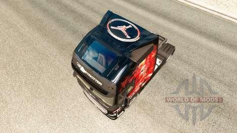 MJBulls de la peau pour Volvo camion pour Euro Truck Simulator 2