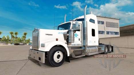 De la peau pour les etats-unis Camion camion Ken pour American Truck Simulator
