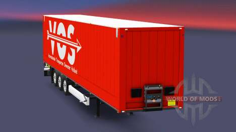 Semitrailer Couronne Dry Liner pour Euro Truck Simulator 2