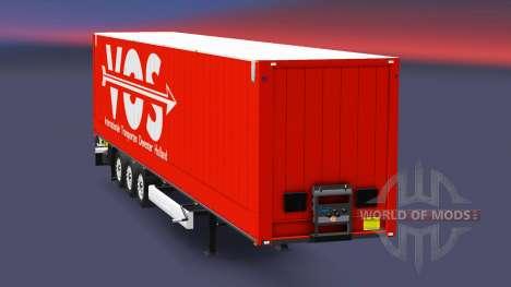 Semitrailer Krone Dry Liner für Euro Truck Simulator 2
