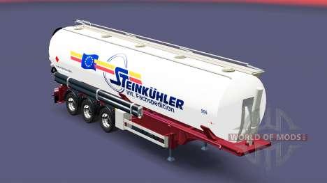 The semitrailer réservoir Steinkuhler pour Euro Truck Simulator 2