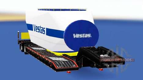 Oversized-zentralen mit unterschiedlichen Lasten für American Truck Simulator