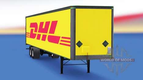 Tous métal-semi-remorque DHL pour American Truck Simulator