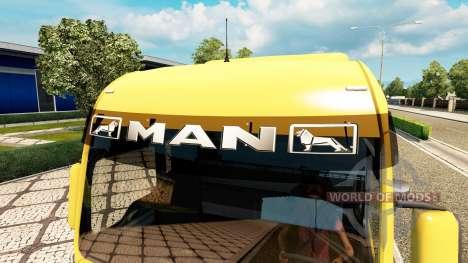 Pare-soleil pour Euro Truck Simulator 2