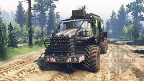 Ural-4320 [grizzly] v2.0 pour Spin Tires