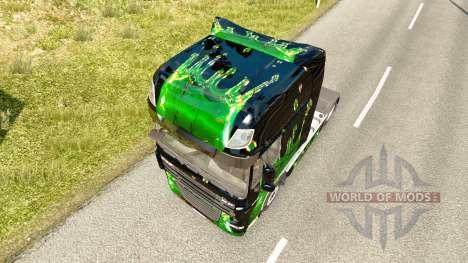 Kunstwerke skin für DAF-LKW für Euro Truck Simulator 2