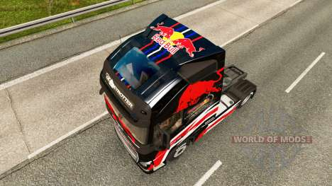 Red Bull de la peau pour Volvo camion pour Euro Truck Simulator 2