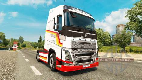 Vintage skin für den Volvo truck für Euro Truck Simulator 2