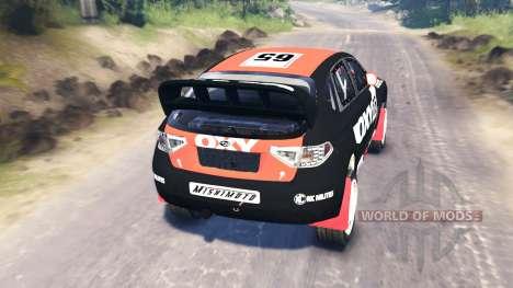 Subaru Impreza WRX pour Spin Tires